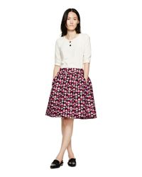 kate spade new york - Black Petit Four Cupcake Skirt - Lyst