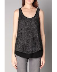 Esprit | Black Sleeveless Top | Lyst