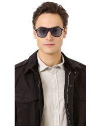 Gucci - Black Aviator Sunglasses for Men - Lyst