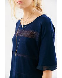 Kimchi Blue - Blue Isabelle Crochetinset Top - Lyst