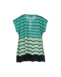 M Missoni - Green Jumper - Lyst