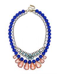 BaubleBar - Blue Buckingham Layered Necklace - Lyst