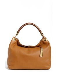 Michael Kors | Brown 'large Skorpios' Leather Shoulder Bag | Lyst