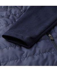 RLX Ralph Lauren - Blue Quilted Cool Wool Golf Jacket for Men - Lyst