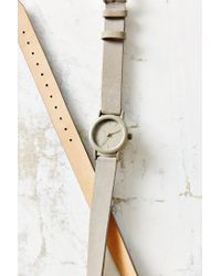 Urban Outfitters | Gray Double Wrap Suede Watch | Lyst