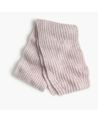 J.Crew | Pink Marled Knit Scarf | Lyst