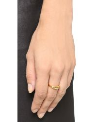 Gorjana | Metallic Irri Ring - Gold | Lyst