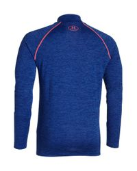 Under Armour | Blue Tech Quarter-zip Shirt for Men | Lyst