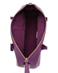 Furla - Purple Linda Medium Satchel - Winter Rose - Lyst