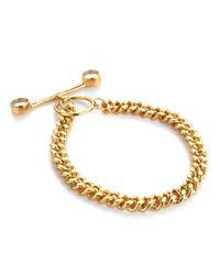 Bjorg | Metallic Gold The Multiplyer Bracelet | Lyst