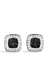 David Yurman | Petite Albion Earrings With Black Onyx & Diamonds | Lyst