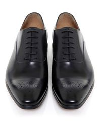 Stemar | Black Siena Oxford Shoes for Men | Lyst