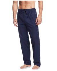Polo Ralph Lauren - Blue Big And Tall Flannel Pajama Pants for Men - Lyst