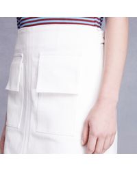 Trademark | White Singh Pocket Skirt | Lyst