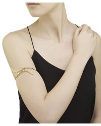 Arme De L'Amour | Metallic Engraved-Brass Arm Bracelet | Lyst