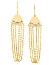 Gorjana | Metallic Delano Chain Drop Earrings | Lyst