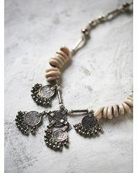Free People - Metallic Banjara Womens Kali Coin Pendant - Lyst
