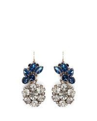 Lulu Frost - Blue 100 Year Vintage Earrings - Lyst