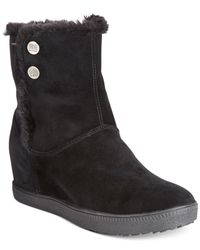 Geox | Black D Amaranth B Abx Cold Weather Ankle Booties | Lyst