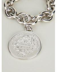 Givenchy - Metallic Medallion Bracelet - Lyst
