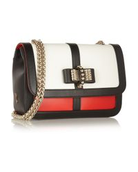 Christian Louboutin - Red Sweet Charity Leather Shoulder Bag - Lyst