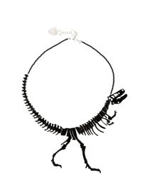 Tatty Devine | Black Dinosaur Necklace | Lyst