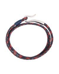 Ted Baker - Blue Sor Leather Bracelet for Men - Lyst