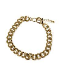 Marc Ecko | Metallic Goldtone Link Bracelet for Men | Lyst