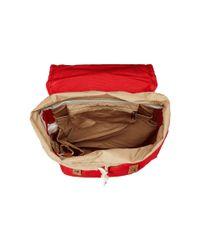Fjallraven - Red Rucksack No.21 Mini - Lyst
