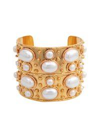 Sylvia Toledano | Metallic Byzance Pearls Cuff | Lyst