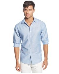 INC International Concepts | Blue Mason Shirt for Men | Lyst