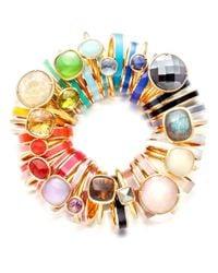 Astley Clarke Metallic Citrine Cushion Ring