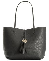 INC International Concepts | Black Kyli Reversible Tote | Lyst