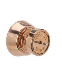 Michael Kors | Metallic Brilliance Botanical Stud Earrings | Lyst