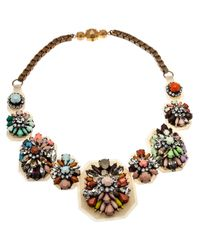 Shourouk | Multicolor Fall Necklace | Lyst