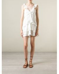 Étoile Isabel Marant - White 'Casey' Dress - Lyst