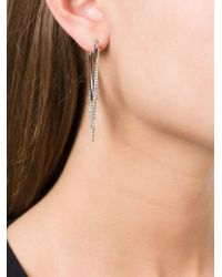 Marc By Marc Jacobs - Metallic 'triangle Pointer' Earrings - Lyst