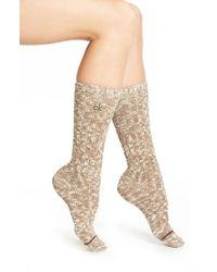 Calvin Klein | Natural 'lorena' Crew Socks | Lyst