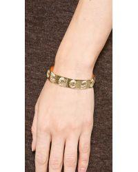 Aurelie Bidermann - Metallic Concorde Bracelet - Gold - Lyst