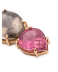 Irene Neuwirth | 18kt Rose Gold And Pink Tourmaline Pendant | Lyst