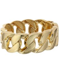 Kenneth Jay Lane | Metallic 1106bpg Bracelet | Lyst