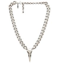 Natalie B. Jewelry | Metallic Iron Crow Choker Necklace | Lyst