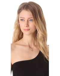 Jamie Wolf | Black Diamond Pendant Necklace - Gold | Lyst