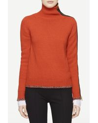 Rag & Bone - Orange Sarah Turtleneck - Lyst