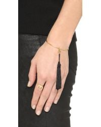 Vanessa Mooney | Metallic The Sadi Crescent Moon Ring | Lyst