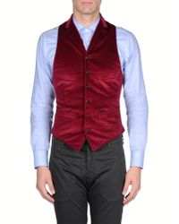 DSquared²   Natural Waistcoat for Men   Lyst