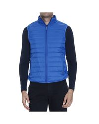 Armani Jeans | Blue Down Jacket for Men | Lyst