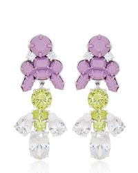 EK Thongprasert - Purple Giverny Garden Medium Earrings - Lyst
