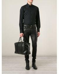 Saint Laurent - Black 'duffle 24' Hold-all for Men - Lyst