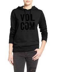 Volcom - Black 'droppin In' Hoodie - Lyst